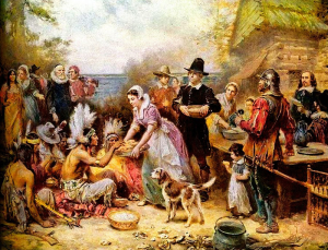 the-first-thanksgiving-jean-leon-gerome-ferris-1621